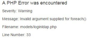 php-warning